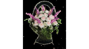 Корзины из искусственных цветов, серия: K-1
