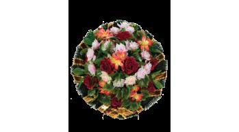 Корзины из искусственных цветов, серия: K-3