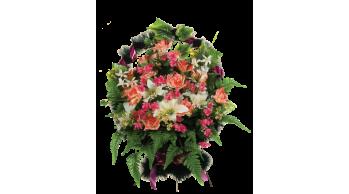 Корзины из искусственных цветов, серия: K-4