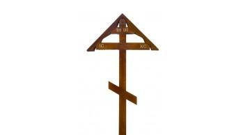 Крест сосна, дуб домик