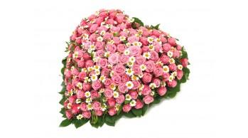 Венки из живых цветов, модель: Ж-12