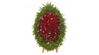 Венки из живых цветов, модель: Ж-2