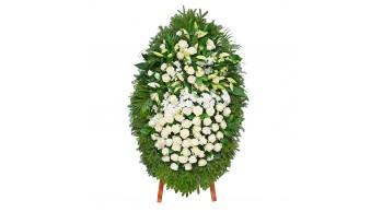 Венки из живых цветов, модель: Ж-5
