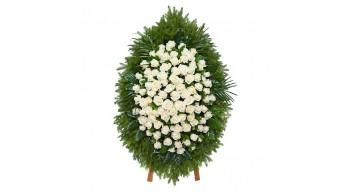 Венки из живых цветов, модель: Ж-7